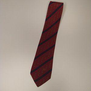 Gucci Burgundy Silk Men's Tie